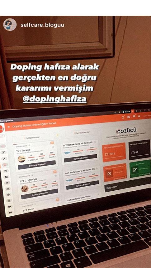 Doping Hafıza Öğrenci Yorumları